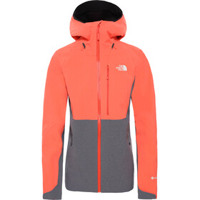 The North Face Apex Flex GTX 2.0 Chaqueta Mujer, orange/vanadis grey heather